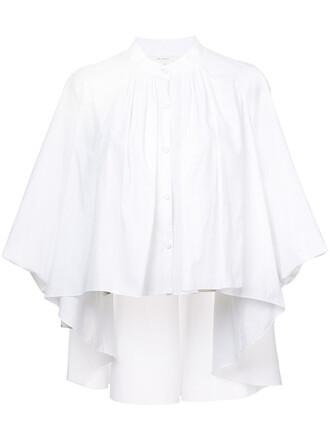 top women white cotton