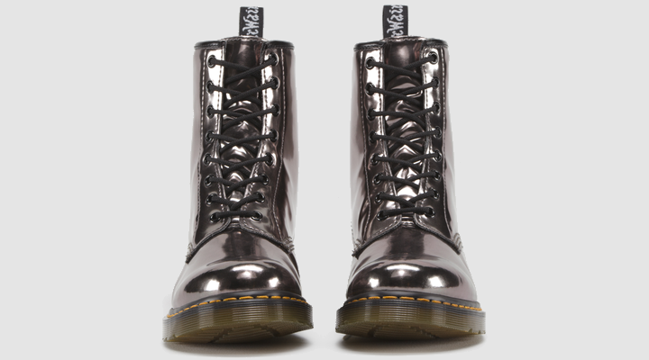 ca46cb3d929a Dr Martens 1460 PEWTER KORAM FLASH - Doc Martens Boots and Shoes