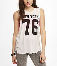 GRAPHIC MUSCLE TANK - NEW YORK 76 | Express