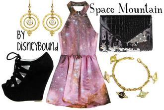 dress galaxy dress disneybound