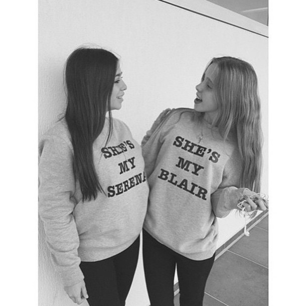Sweater Gossip Girl Instagram Blair Waldorf Serena Van