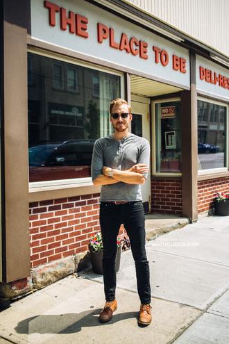 stay classic shirt jeans shoes jewels belt sunglasses