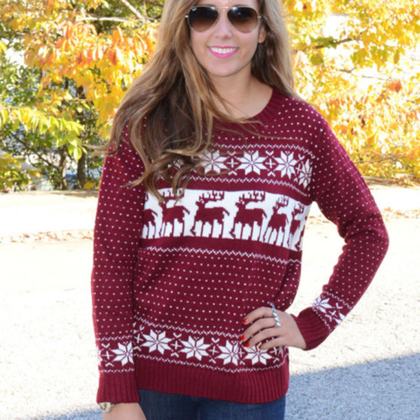 Fair Isle Christmas Sweater.Get The Sweater For At Wheretoget