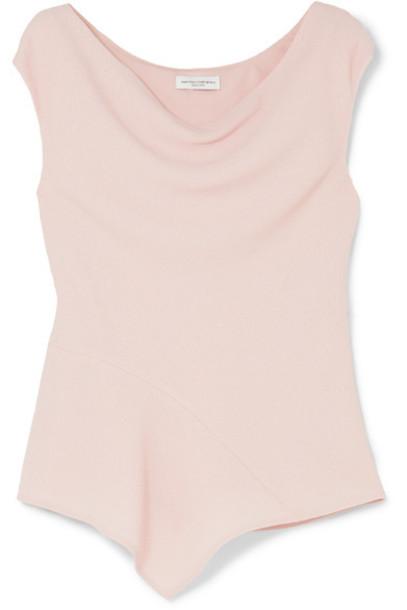 NARCISO RODRIGUEZ top wool pink