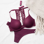 underwear,thong,cotton,cotton thong,merlot,wine,red,red thong,red bra,bra,lace,lace bra,red lace bra,wine bra,undies