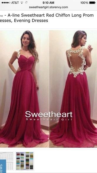 dress prom dress red dress red prom dresses lace dress