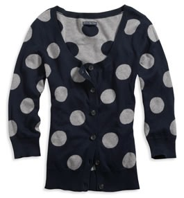 Polka Dot Cardigan review at Kaboodle