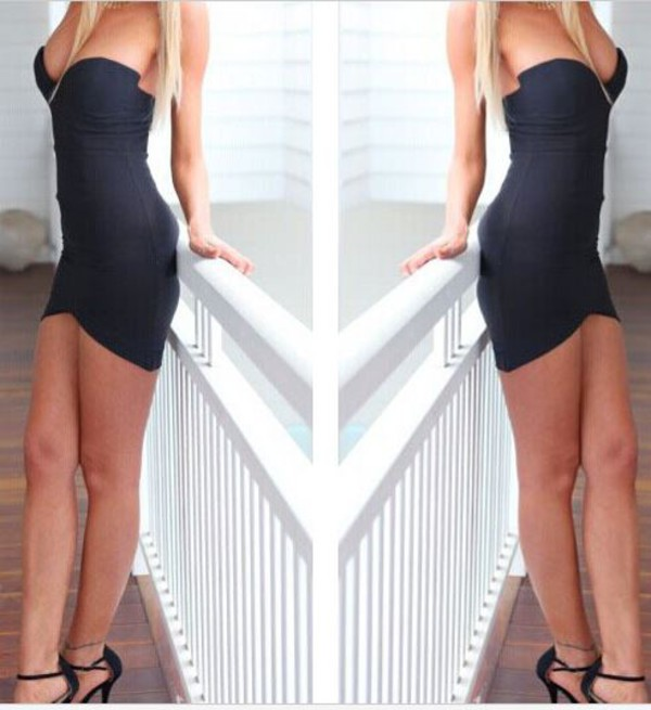 cocktail dress little black dress strapless dress couture chic dream closet couture dress