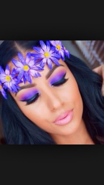 make-up make-up style hair accessory