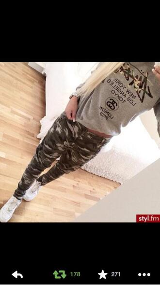 pants military pants military style green army pants