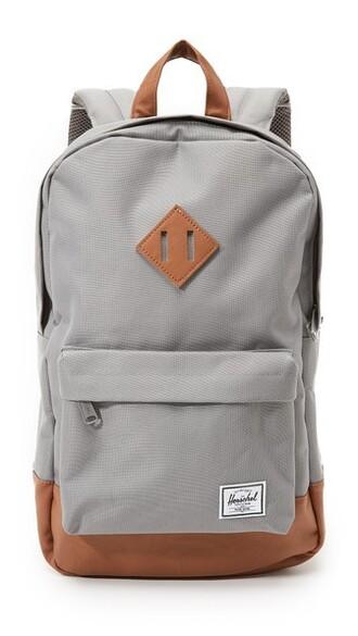 backpack grey bag