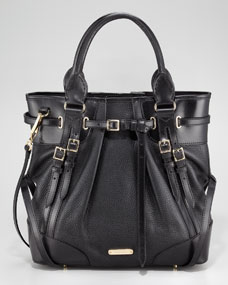 Burberry Bridle Medium Whipstitch Tote Bag - Neiman Marcus