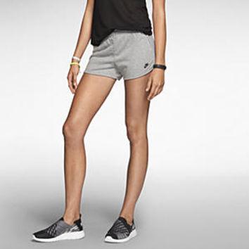 Nike Sunset Women's Shorts - Dark Grey Heather on Wanelo
