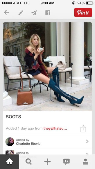 boho boots high heels high heeled boots thigh high streetwear knee high boots