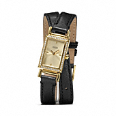 Coach :: MADISON DOUBLE WRAP STRAP WATCH