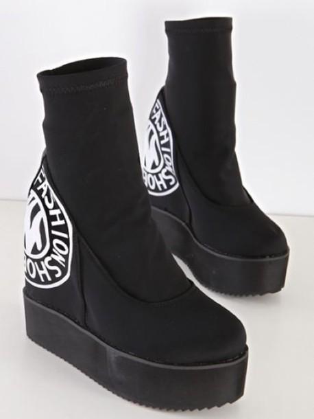 shoes platform shoes boots platform shoes wedges wedges boots wedges black platform boots wedge boots black and white gothic boots pastel goth wedge platform punk punk shoes goth shoes gothic shoes pastel goth shoes cute platforms