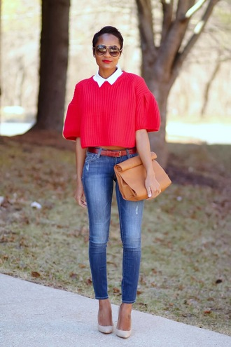 the daileigh sweater t-shirt jeans bag sunglasses shoes