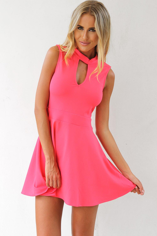 Lychee Flare Dress | SABO SKIRT
