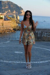 romper,selena gomez,summer outfits