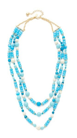 triple necklace turquoise jewels