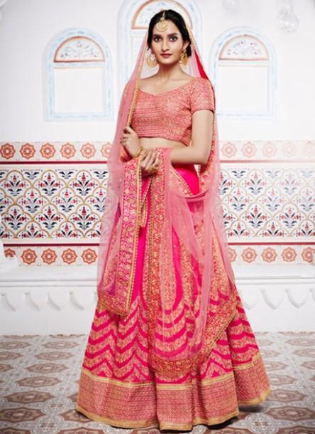 pink bridal lehengas lehengas bridal lehengas choli dress