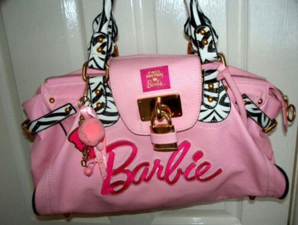 bag barbie purse pink