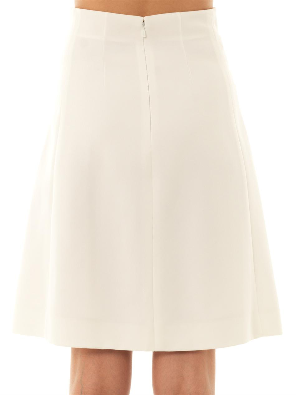 Crepe A-line skirt | Chloé | MATCHESFASHION.COM
