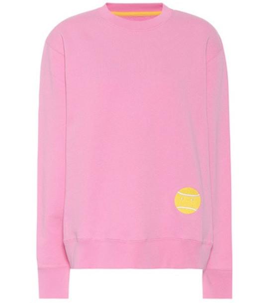 Tory Sport Little Grumps cotton sweatshirt in pink