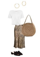 jestem kasia,blogger,skirt,t-shirt,bag,shoes,jewels