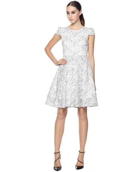 Aubree Cap Sleeve Dress | Dresses | Alice   Olivia