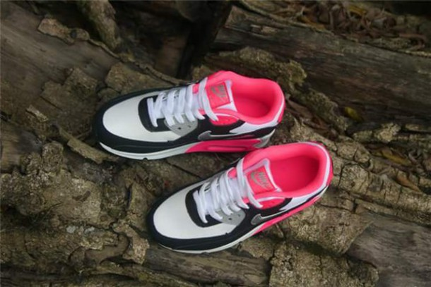 shoes nike pink white now black nike air nike shoes nike running shoes where did u get that babys