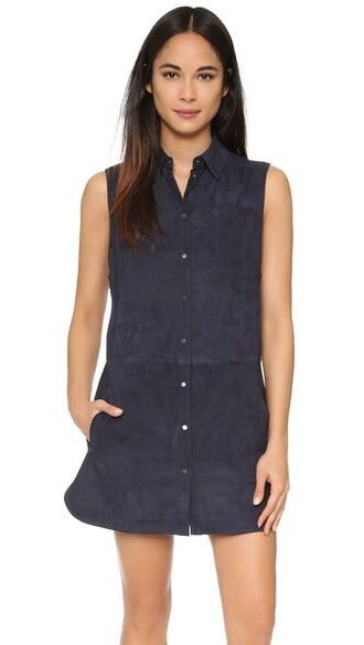 tunic sleeveless suede top