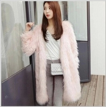 Plus Size XS 2XL New Design 2015 Women Warm Faux Fox Fur Winter ...
