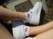 shoes,white,trainers,sportswear,retro,socks,white shoes,nike,adidas,flatform,pale,ghetto,grunge,underwear,top