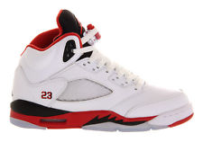 Nike Air Jordan 5 Retro V White Fire Red AJ5 ajv Toro Grape | eBay