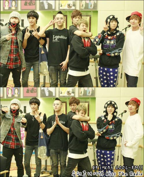 hoodie hyunseung b2st stars sweater black