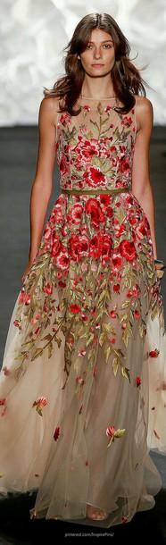 dress embroidered dress embroidered maxi dress floral dress