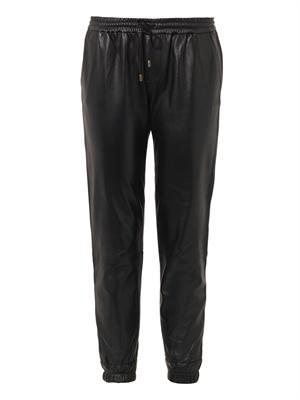 Jadyn leather trousers