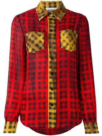 shirt tartan top