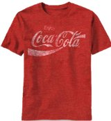 Amazon.com: Mad Engine Men's Coca Cola Coke Classic T-Shirt: Fashion T Shirts: Clothing