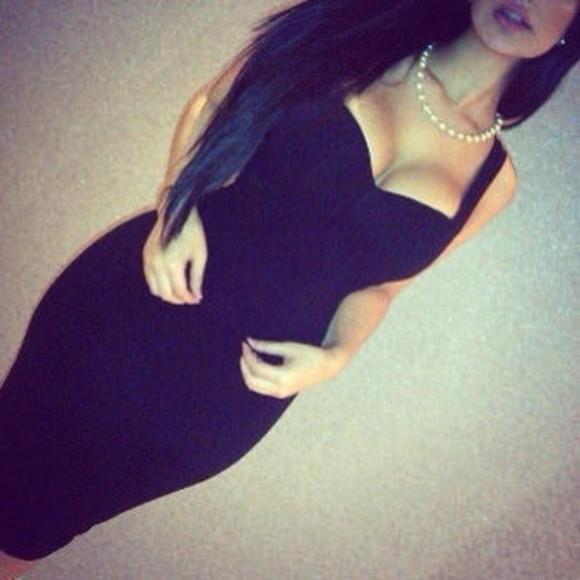 prom dress style little black dress stylish modern sexy dress dress black dress classic