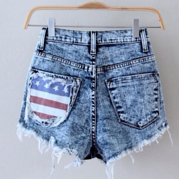 shorts denim shorts