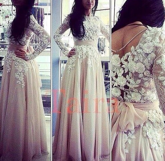 dress nude dress lace dress white dress maxi dress wedding dress creme dress party cocktail dresses