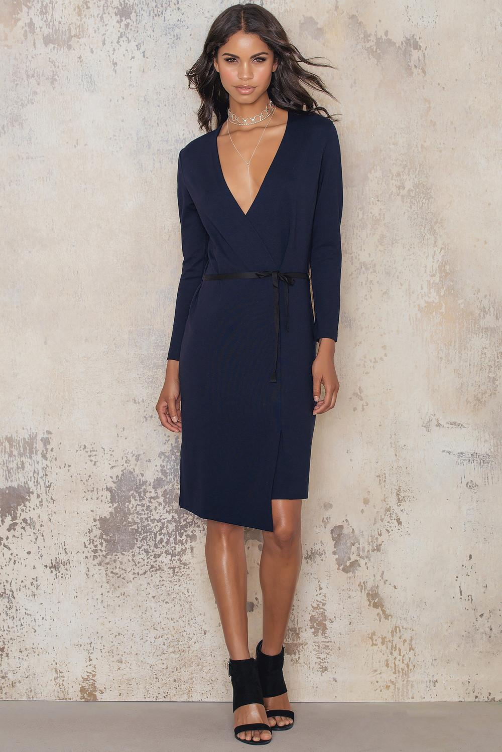 Filippa K Jersey Wrap Dress