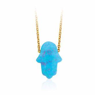 jewels jewelry boho chic boho jewelry jewelry necklace necklace hamsa gemstone opal gold necklace silver necklace silver