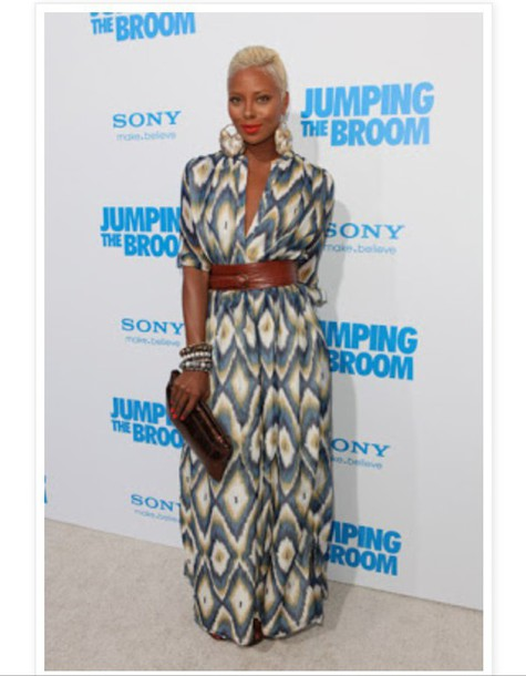 dress eva marcille african print african american