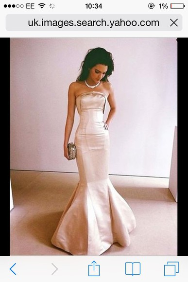 kendall jenner dress vintage fishtail dress mermaid prom dresses prom dress pink elegant