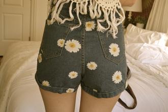 shoes summer denim shorts jeans spring trendy fashion style fashionista blogger daisy