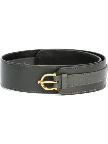 Céline Vintage wide belt in grey