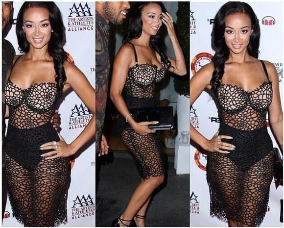 black stars fashion lace dress sexy dress mesh dress black dresses